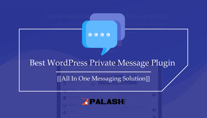 WordPress Private Message Plugin