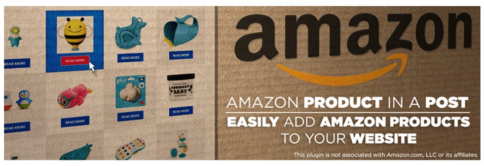 Amazon Product in a Post Plugin