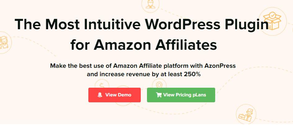 Azonpress Amazon affiliate plugin