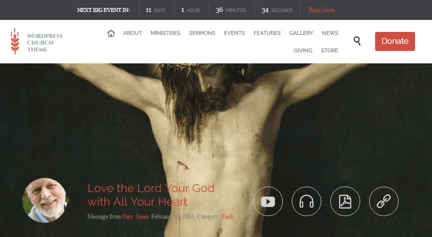 Church – WordPress