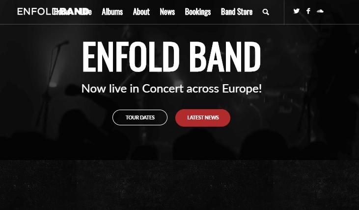 Enfold Band Demo