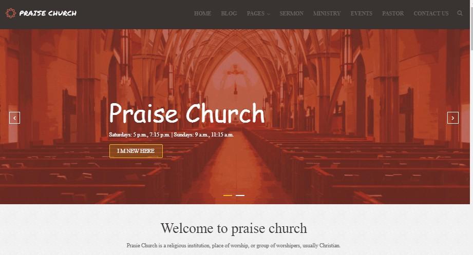 Praise Church theme