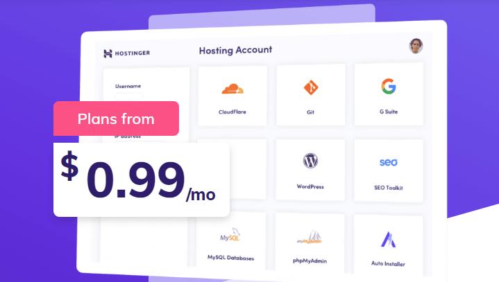 hostinge free trail hosting