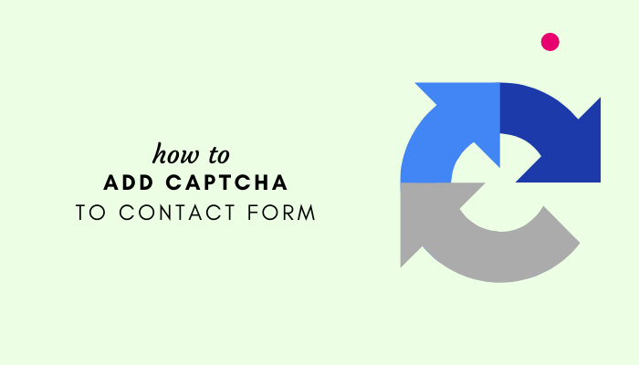Add Captcha To Contact Form