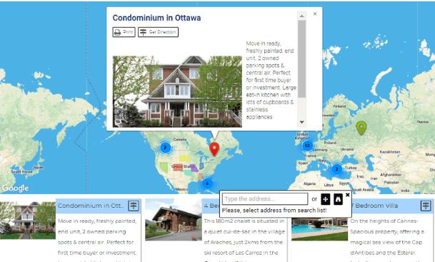 Google Map Easy