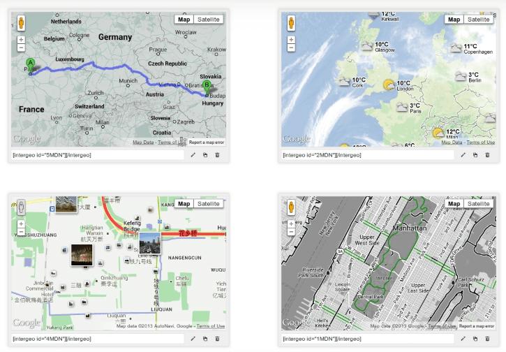 Intergeo Maps plugin