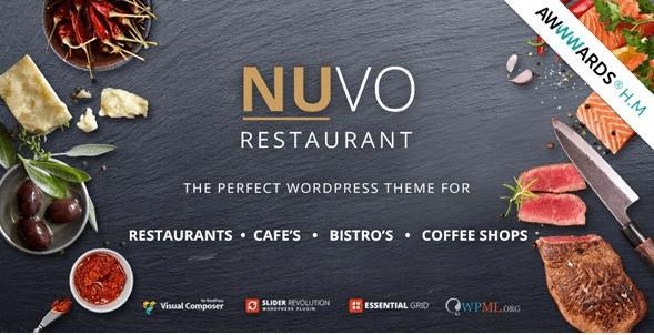 Nuvo Restaurant theme