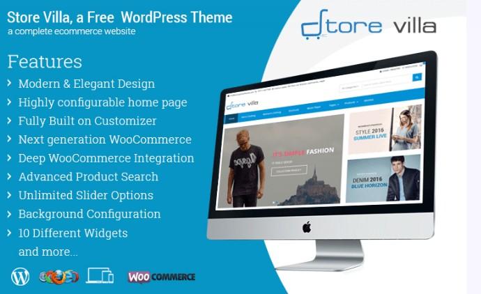 Storevilla Ecommerce WordPress Theme