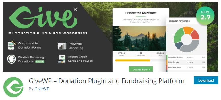 GiveWP Donation Plugin