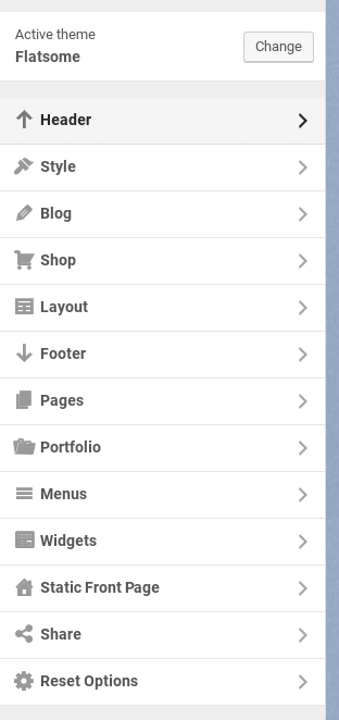 flatsome theme review customizer
