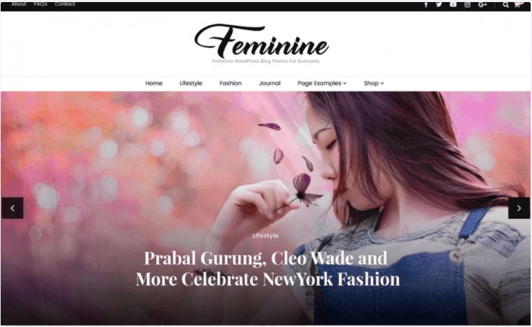 Blossom Feminine theme