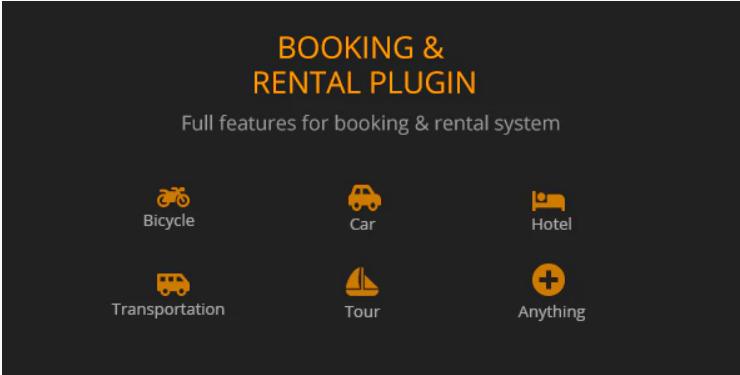 Booking Rental Plugin WooCommerce