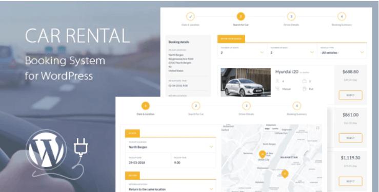 Car Rental Booking System