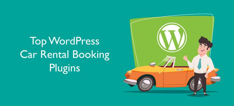 Car Rental Booking WordPress Plugin