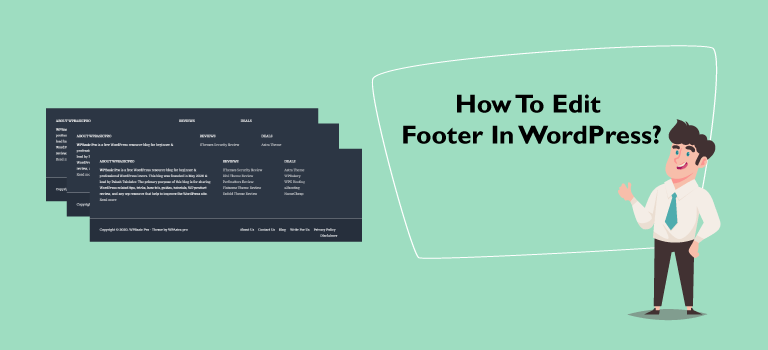 How to Edit Footer in WordPress? Step by Step Guide