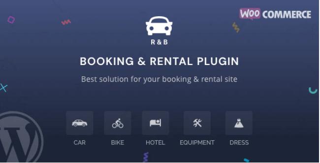 RnB WooCommerce Booking & Rental Plugin