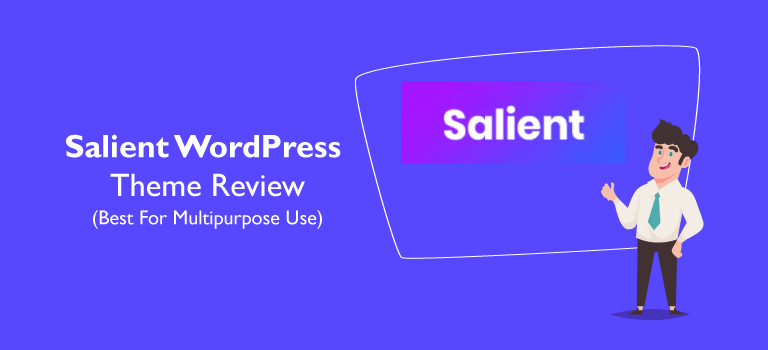 Salient WordPress Theme Review (Best For Multipurpose Use)