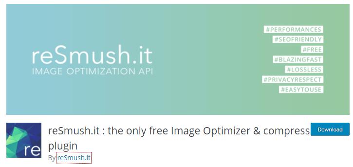reSmush Image Optimizer Plugin