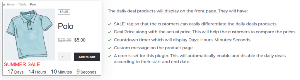 Daily Deals Plugin for WooCommerce