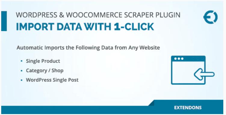 WordPress & WooCommerce Scraper Plugin