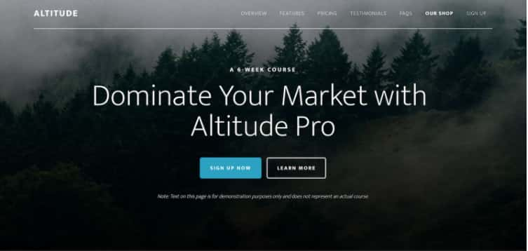 Altitude Pro WordPress Theme Review – StudioPress Theme