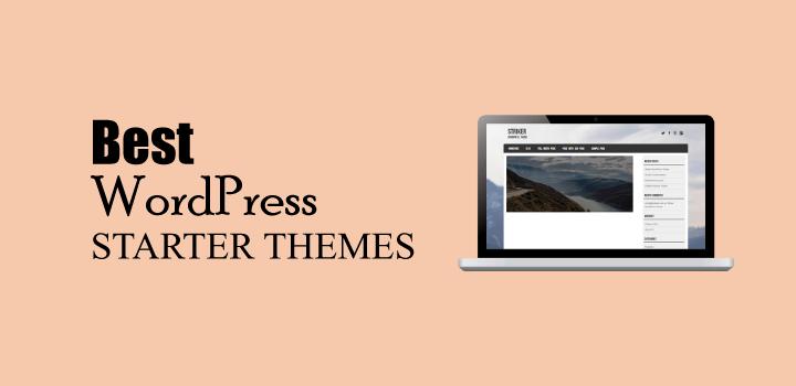 13 Best WordPress Starter Themes Review & Comparison