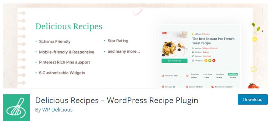 8 Best WordPress Recipe Plugins in 2021 (Reviewed) 1