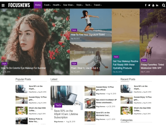 20 Best WordPress Themes For Blogs 2021 Reviewed 6