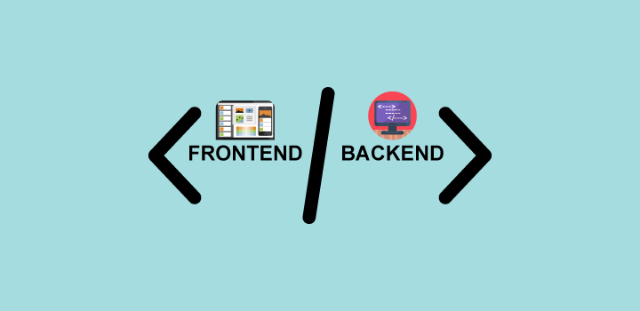 frontend vs backend editor