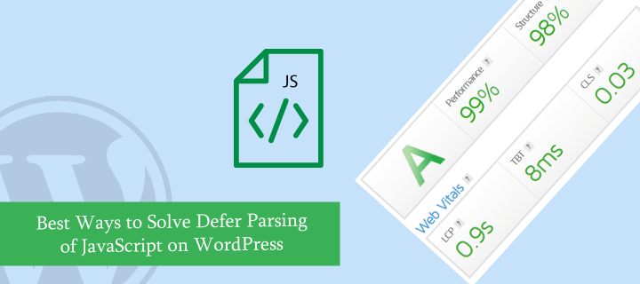 How to Solve Defer Parsing of JavaScript on WordPress Site?