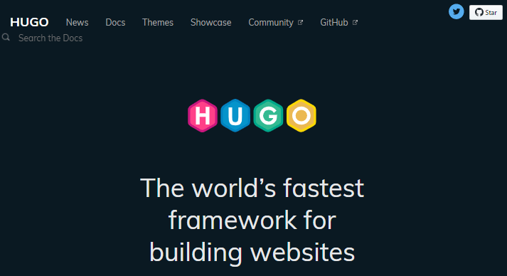 Hugo WordPress static site generator