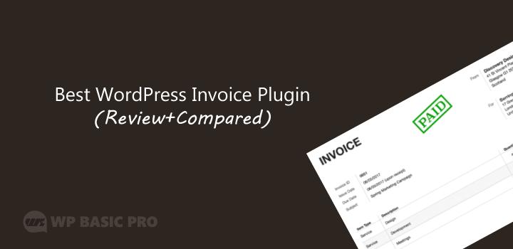 best WordPress invoice plugin