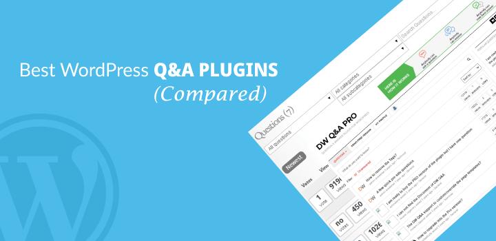 10 Best WordPress Q&A Plugins 2021 (Compared)