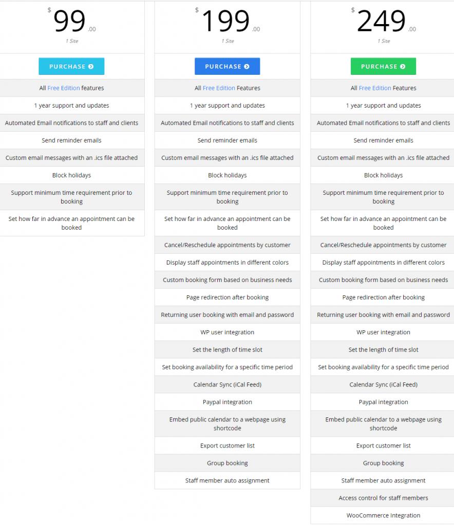 BirchPress Scheduler pricing