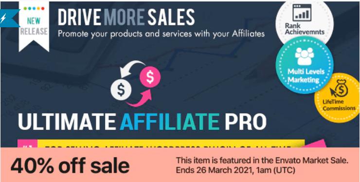Ultimate Affiliate Pro: For Complete Affiliate WordPress Plugin 1