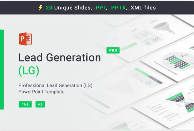Lead Generation for PowerPoint template