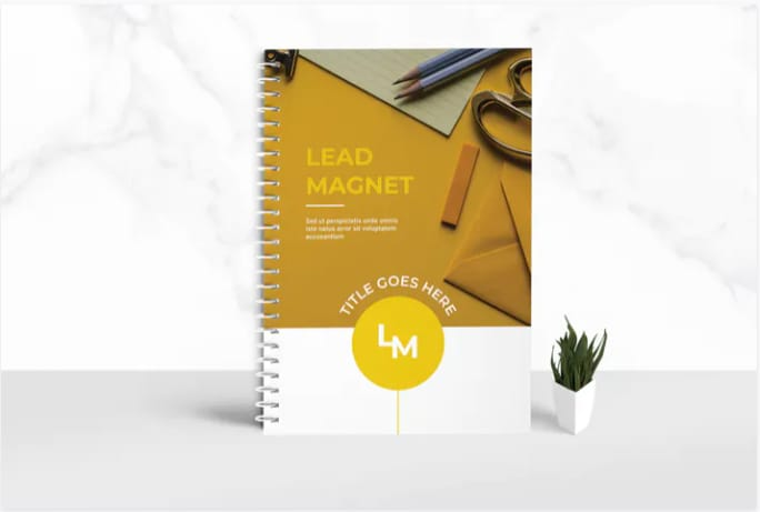 Lead magnet workbook template