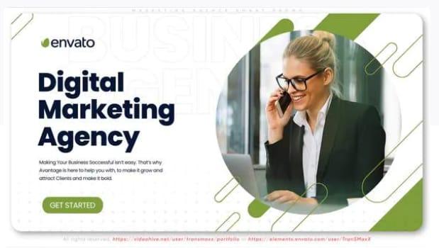 Marketing agency smart promo template