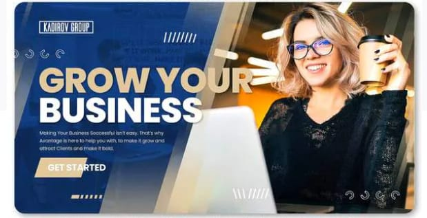New business agency video template