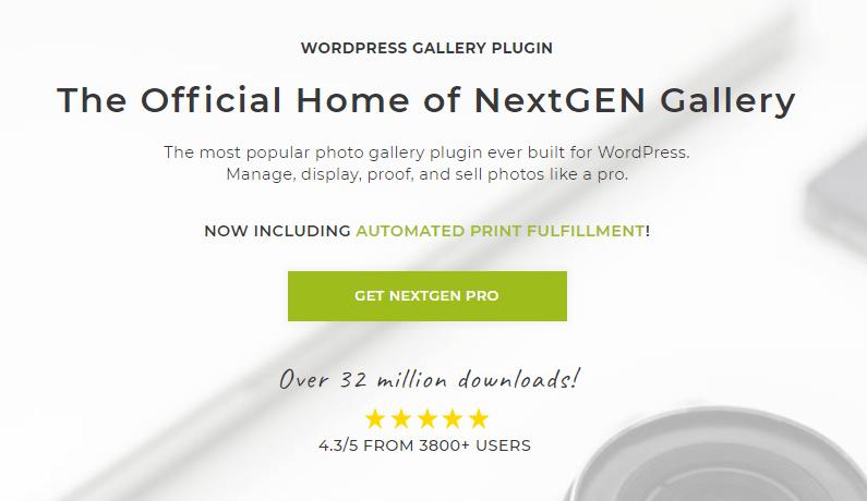 NextGEN gallery plugin