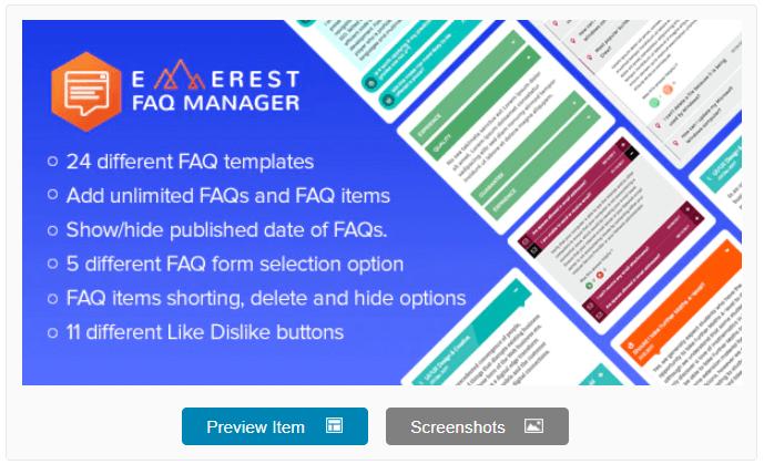 Everest FAQ Manager