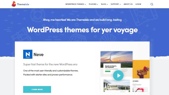 Themeisle WordPress theme store