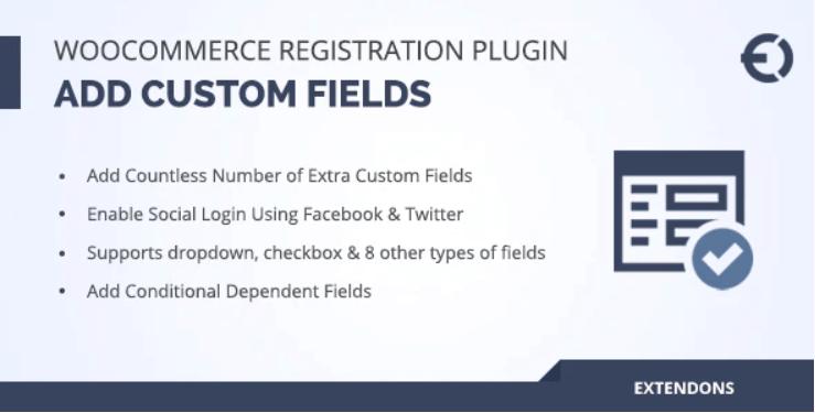 WooCommerce Registration Fields