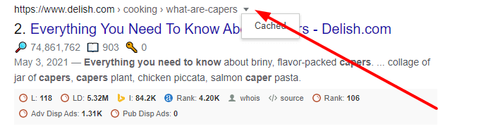 cached version from google search