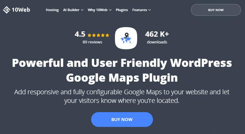 google maps wd plugin