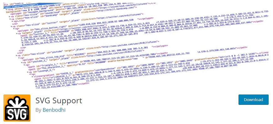 SVG support