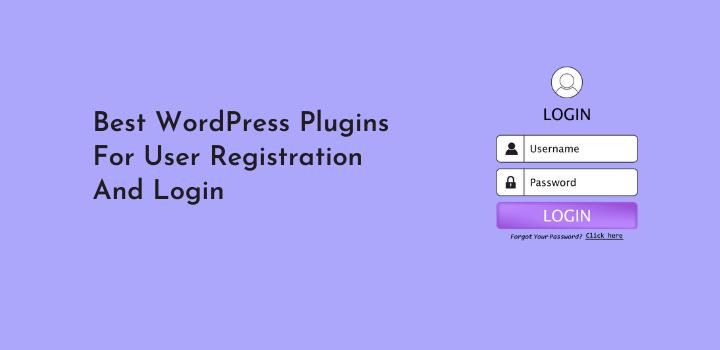 9 Best WordPress User Login Registration Plugins (Reviewed)