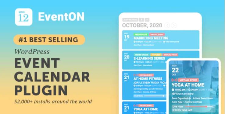 8 Best WordPress Event Calendar Plugins (Reviewed) 1