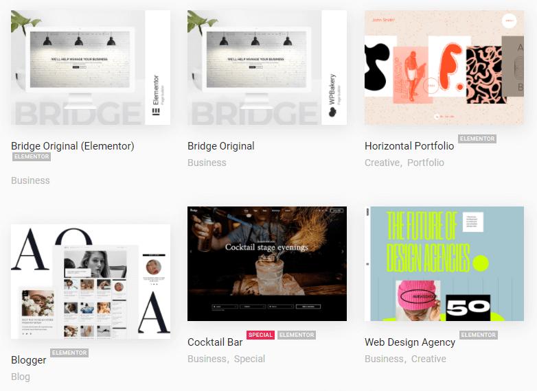 bridge demo themes