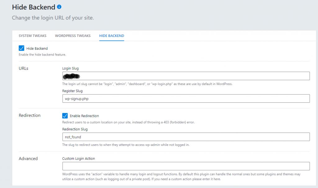 change login URL using iThemes